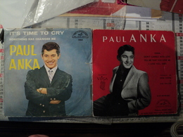PAIRE DE 45 TOURS PAUL ANKA. ABC 45 90 831 / 10 064 DIANA / DON T GAMBLE WITH LOVE / TELL ME THAT YOU LOVE ME / I LOVE - Vinyles