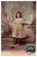 2928 - Enfants - 5 Cp Colorisée , Sur Papier Glacé : Petite Fille Faisant Du Yoyo - ( Poss. De Détailler ) - Scènes & Paysages