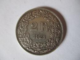 Switzerland: 2 Francs 1921 - Suisse