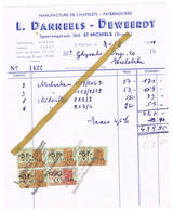 Sint-Michiels Brugge: 1951: Manufacture De Chapelets - Paternosters  L.Danneels-Deweerdt - Belgique