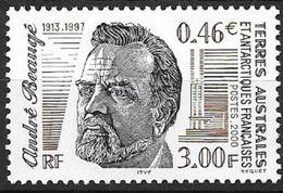 TAAF 2000 N° 280 Neuf André Beaugé - Unused Stamps