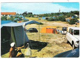 40 LANDES Citroën Ami 6 Au Camping Lous Seurrots De CONTIS-PLAGE - France