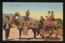 Sicilia. *Carreto Siciliano* Ed. G.B.P. Nº 2692. Nueva. - Italia