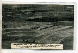 91-01 BRETIGNY SUR ORGE Publicité  Pour ETS L.CLAUSE Ferme De La Maison Neuve Graines Et Semences 1926   /D3E-2014 - Bretigny Sur Orge