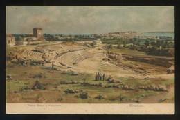 Siracusa. *Teatro Greco E Panorama* Ed. G.B.P. Nº 2692. Nueva. - Siracusa