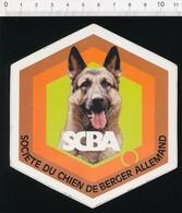Autocollant Sticker Publicité SCBA Société Du Chien De Berger Allemand 21/12ADH - Autocollants
