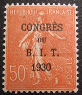 R1692/175 - 1930 - CONGRES DU B.I.T. 1930 - N°264 NEUF** BON CENTRAGE - France