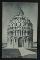 Pisa. *Il Battistero* Ed. G. Barsanti & Figli Nº 91-8. Nueva. - Pisa