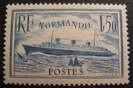 R1692/180 - 1935 - PAQUEBOT NORMANDIE - N°300 NEUF** - Cote : 200,00 € BON CENTRAGE - France