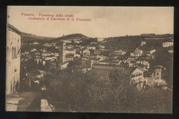Fiesole. *Panorama Della Strada Conducente Al Convento...* Nueva. - Otras Ciudades