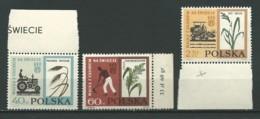 POLOGNE: **, N°YT 1229 à 1231, Série, TB - 1944-.... Republik