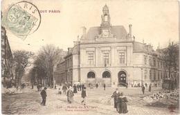 Dépt 75 - PARIS (20è Arr.) - Mairie Du XXè - Place Gambetta - TOUT PARIS N° 428 - Collection F. Fleury - Arrondissement: 20