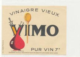 VI 63 - ETIQUETTE VINAIGRE  VIEUX VIMO - Labels