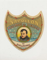 VI 78  - ETIQUETTE VINAIGRE NAPOLEON   PURE GRAPE VINEGAR - Labels
