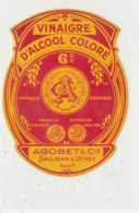 VI 79  - ETIQUETTE VINAIGRE D'ALCOOL  AGOBET  & CIE - Labels
