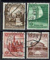 DR 1938 // Mi. 665/668 O (030..027) - Gebraucht