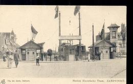 Zandvoort - Haarlem - Station Electrische Tram - 1900 - Haarlem