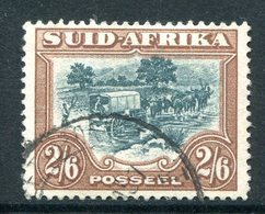 South Africa 1947-54 Screened Printing - 2/6 Ox-wagon Used (SG 121) - Oblitérés