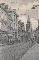 Amiens (80) - Rue Et Eglise St Saint Leu - Amiens