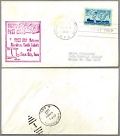 FIRST TRIP Highway Post Office: ABERDEEN SD & SIOUX CITY IA, 31 Agosto 1955 - Correo Postal