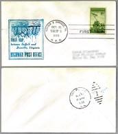 FIRST TRIP Highway Post Office: SUFFOLK & DANVILLE, VA, 31 Octubre 1955 - Correo Postal