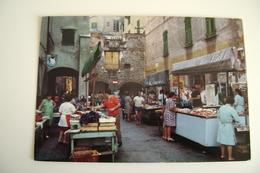 CHIAVARI   Market   MERCATO  VIAGGIATA COME DA FOTO - Mercati