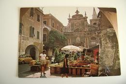 PIETRA  LIGURE   Market   MERCATO  VIAGGIATA COME DA FOTO - Mercati