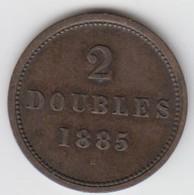 Guernsey Coin 2double 1885 - Guernsey