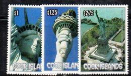 Z676A - COOK  , Yvert . 861/863  ***  MNH  Bicentenario - Cook