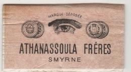 ATHANASSOULA FRERES SMYRNE CIGARETTE PAPER - Tabac (objets Liés)