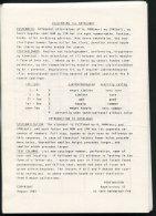 1980s Denmark Perfins Handbook Pages Perfinisten. Peterr Engelbrecht - Specialized Literature