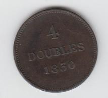 Guernsey Coin 4double 1830 - Guernsey