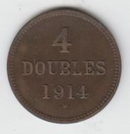 Guernsey Coin 4double 1914 - Guernsey