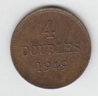 Guernsey Coin 4double 1949 - Guernsey