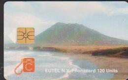 ANTILLES NEERLANDAISES TELECARTE EUTEL N.V 120 U 30 Nafl TIRAGE 3000 - Antilles (Netherlands)