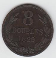 Guernsey Coin 8double 1889 - Guernsey
