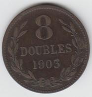 Guernsey Coin 8double 1903 - Guernsey