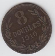 Guernsey Coin 8double 1910 - Guernsey