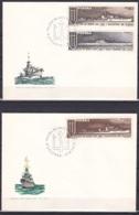 Poland/1970 - Polish Warships/Polska Na Morzu - Set - 2 X FDC - FDC
