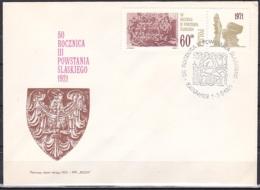 Poland/1971 - Silesian Insurrection/Powstania Slaskiego - 60 Gr - FDC - FDC