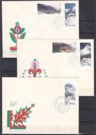 Poland/1972 - Tourism/Turystyka - Set - 3 X FDC - FDC