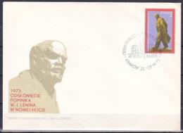 Poland/1973 - Lenin Statue/Pomnika W.I.Lenina - 1 Zl - FDC - FDC