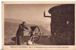 CPA BASUTOLAND -mission Du Sud-afrique -broyage De Grain - Lesotho