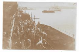 AUSTRO HUNGARIAN KRIEGSMARINE, SMS Novara ,Coal Suplying On Deck. 1915. - Guerre 1914-18