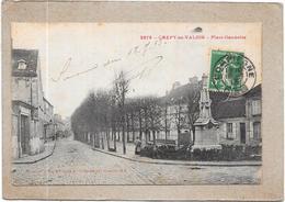 CREPY EN VALOIS - 60 - Place Gambetta - DELC5 - - Crepy En Valois