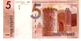 Belarus P.37  5 Rublos 2009  Unc - Bielorussia