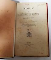 BEJA -MERTOLA-MONOGRAFIAS-«Memória Das Atiguidades De Mertola»( Autor: Sebastião Philippes Martins Estacio - 1877-1880 ) - Livres, BD, Revues