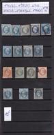 France 1854-1868 Classique Oblitérés Du  N° 14 Au N° 29 B - France