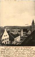 Zeppelin über Dem Engelsberg Bei Fürstenfeldbruck - Fuerstenfeldbruck
