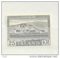 1957 MNH Iceland, Island, Mi 319 - 1944-... Republique